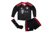 adidas Bayern Munich 17/18 Mini Kids Home Goalkeepers Kit
