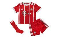 adidas Bayern Munich 17/18 Home Mini Kids Replica Football Kit
