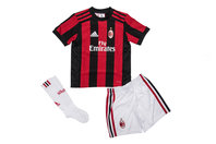 adidas AC Milan 17/18 Home Mini Kids Replica Football Kit