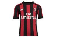 adidas AC Milan 17/18 Home Kids S/S Replica Football Shirt