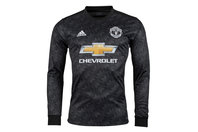 adidas Manchester United 17/18 Away L/S Replica Football Shirt