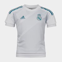 adidas Real Madrid 17/18 Kids Pre-Match Football Training Shirt