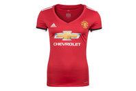 adidas Manchester United 17/18 Ladies Home S/S Replica Football Shirt