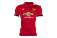 adidas Manchester United 17/18 Home S/S Replica Football Shirt