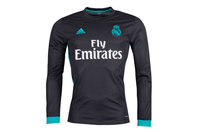 adidas Real Madrid 17/18 Away L/S Replica Football Shirt