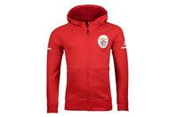 adidas SL Benfica 17/18 Anthem Squad Hooded Football Sweat