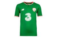 New Balance Republic of Ireland 17/18 Kids Home S/S Replica Football Shirt