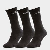 Puma Adult 3 Pack Sport Crew Socks