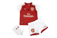 Puma Arsenal 17/18 Home Infant Football Kit