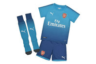 Puma Arsenal 17/18 Away Mini Kids Football Kit