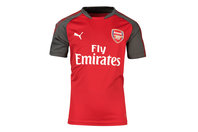 Puma Arsenal 17/18 Kids S/S Football Training Shirt