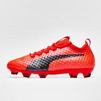 Puma evoPOWER Vigor 3D 1 FG Kids Football Boots