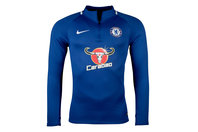 Nike Chelsea FC 17/18 Dry Fit Squad Football Drill Top
