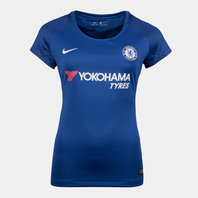 Nike Chelsea FC 17/18 Ladies Home S/S Replica Football Shirt