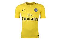Nike Paris Saint-Germain 17/18 Away Players Match Day S/S Football Shirt