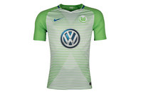 Nike VFL Wolfsburg 17/18 Home S/S Replica Football Shirt