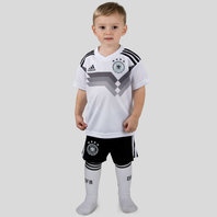 adidas Germany 2018 Home Kids Replica Football Kit