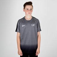 Nike CR7 Dry Squad Kids S/S Football T-Shirt
