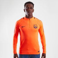 Nike FC Barcelona 17/18 Dry Squad Football Training Top