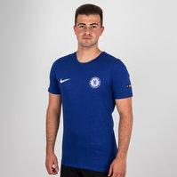 Nike Chelsea FC 2018 Crest Football T-Shirt