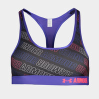 Under Armour HeatGear Girls Armour Printed Sports Bra