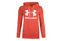Under Armour Womens Favourite Logo Fleece Hooded Sweat