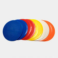 Precision Training Flat Round Markers - Set of 10