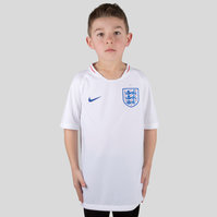 Nike England 2018 Home Kids S/S Stadium Replica Football Shirt