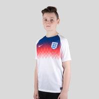 Nike England 2018 Kids Dry Squad Football Training Top