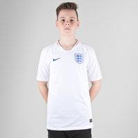 Nike England 2018 Home Kids Vapor Match S/S Football Shirt