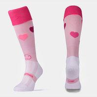 Wackysox Love Hearts Rugby Socks